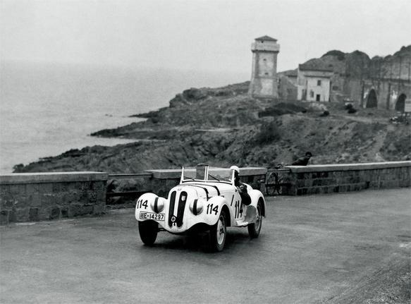 BMW 328 versenyautó 1940