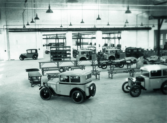 BMW Dixi a gyárban
