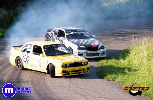 Hegyi Drift verseny / Hill climb Drit (Touge) - BMW drift