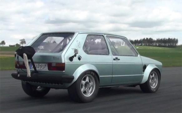 VW Golf I. Tuning - 16Vampir