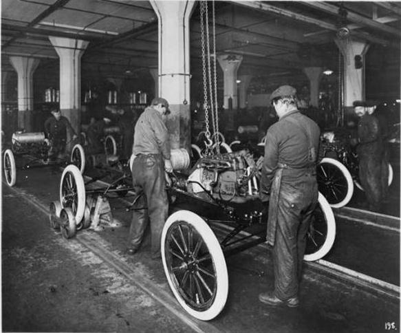 Ford gyártósor