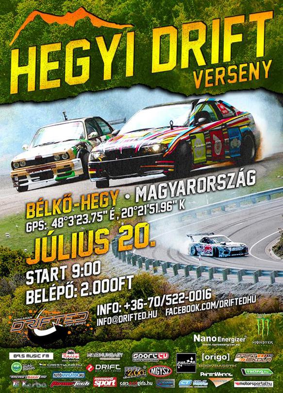 Hegyi Drift verseny / Hill climb Drit (Touge)