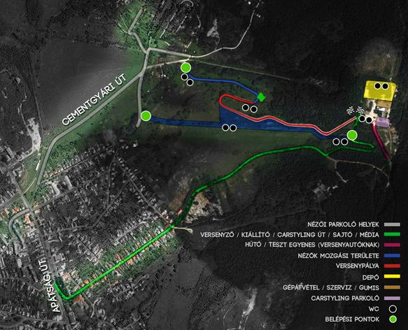 Hegyi Drift verseny / Hill climb Drit (Touge) pálya 2