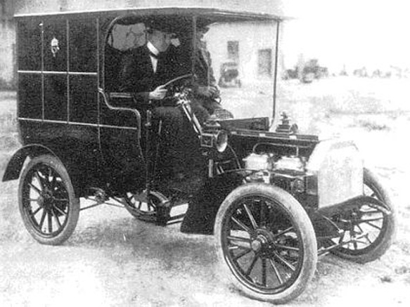 A Csonka-féle automobil (1905)