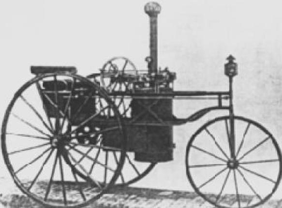 A Preiner-féle háromkerekű gőzkocsi (1875)